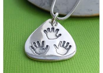 Family Handprint Pendant
