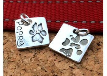 Dog and Cat Paw Charm