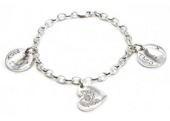 3 Charm Belcher Bracelet