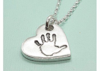 Small Handprint Pendant